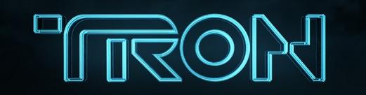 particolare Tron Legacy logo