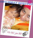@31 jan : Ain's Besday giveaway