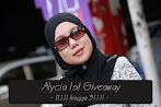@31 jan : Alycia 1st Giveaway