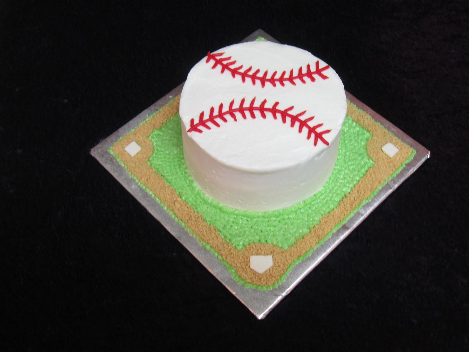 Birthday Cake Images For 12 Year Old Boy : The Frosted Whisk: Baseball Cake