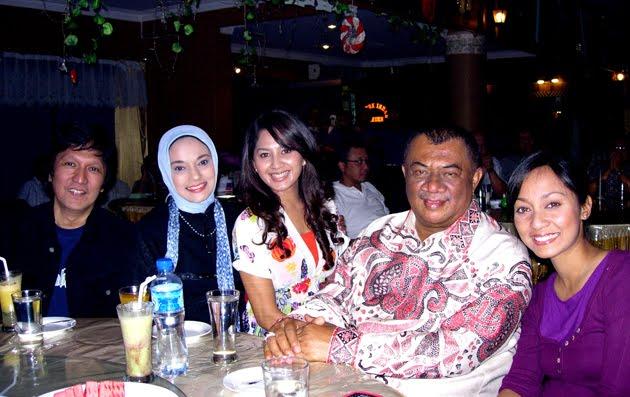 Bersama Gubernur Sumatra Utara Syamsul Arifin