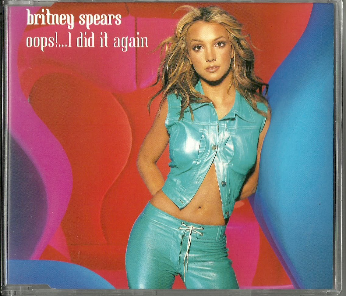 Britney spears oops i did it again 2000 european single