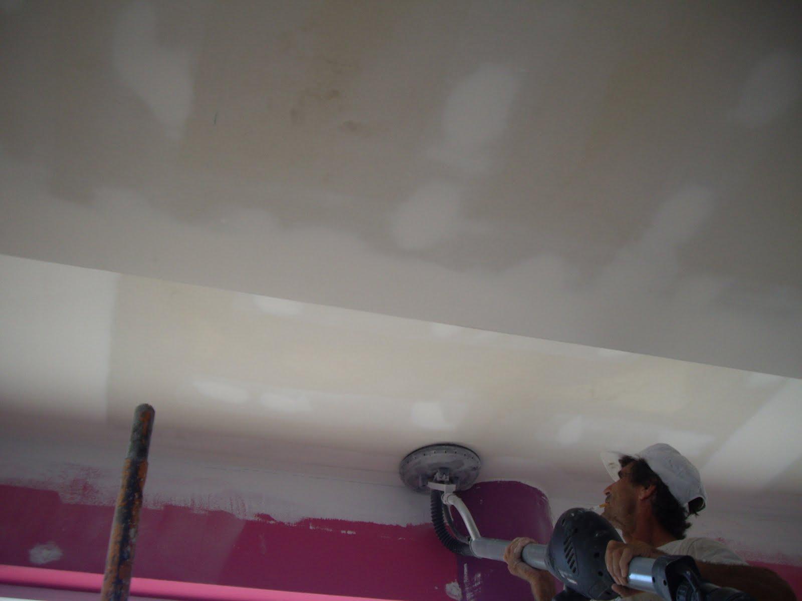 decoracao interiores em pladur: : Preparação do pladur (lixar) para  #8D3E5F 1600 1200