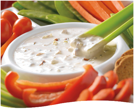 Blue Cheese Dip for Buffalo Wings