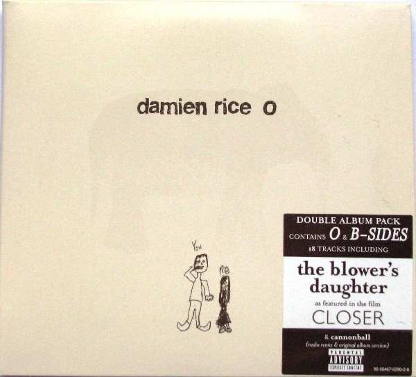 My favorite things damien rice o b sides 14th floor for 14th floor records
