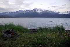 Looking Out of Our RV Window in Seward