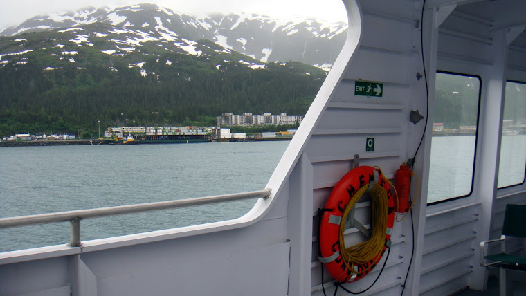 Ferry Coming Into Whittier, Alaska