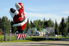 Santa Land RV Park in North Pole, Alaska
