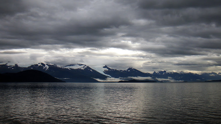 Glacier Seen From Ferry to Petersburg, Alaska
