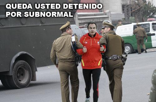 zapatero atentado: