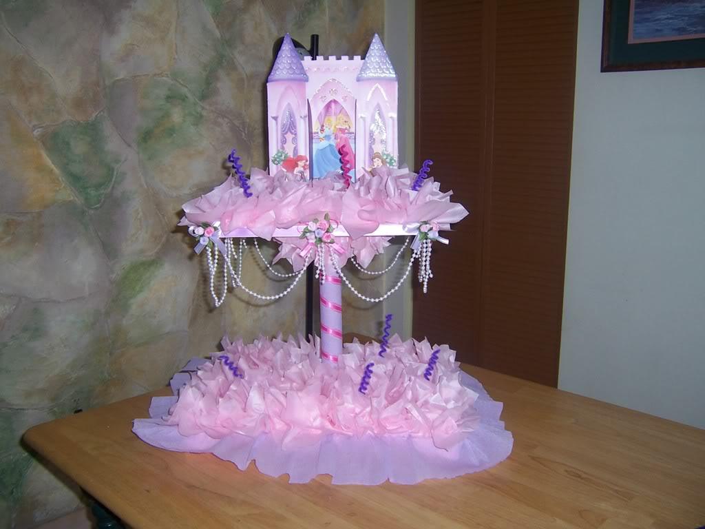Creaciones Lorimar: chupetera castillo princess