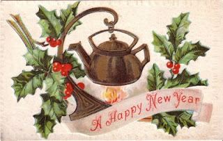 New Years Antique Postcards