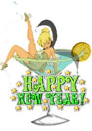 animated tinkerbell happy new year wishes