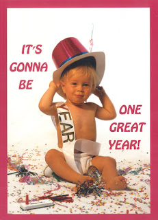Baby New Year Cards