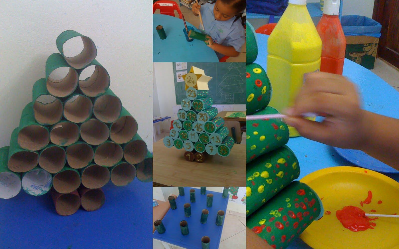 La classe de grande section maternelle cp calendrier de l 39 avent - Calendrier de l avent a fabriquer en maternelle ...