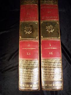 5eme édition du Dictionnaire de l'Académie Française. Révolutionnaire ! dans Bibliophilie, imprimés anciens, incunables dictionnaire%2Bacademie%2B5%2B010