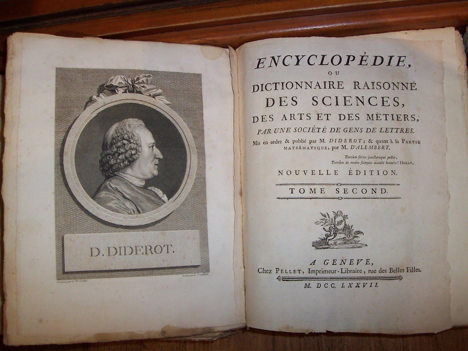encyclopedie siecle des lumieres