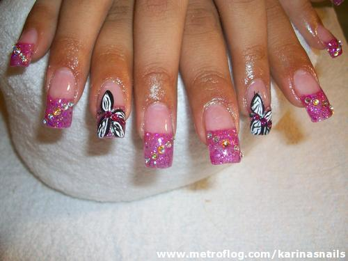 disenos de unas. Diseños de uñas con Mariposas