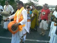 Ratha Yatra 2009 procession pietermaritzburg