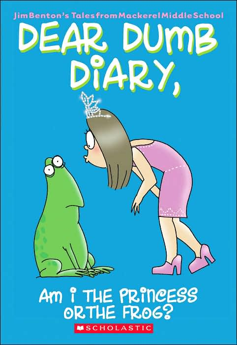 Lot of 5 Dear Dumb Diary Chapter Books Jim Benton
