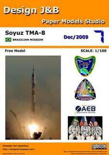 Documentário - Corrida espacial Soyuz+TMA-8+%28Design+J%26B%29