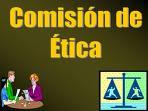 COMISION DE ETICA EN LOS REGISTROS CIVILES LATINOAMERICANOS