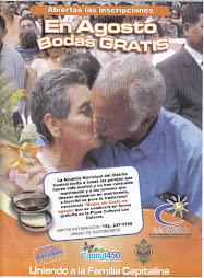 MATRIMONIOS CELEBRADOS GRATUITAMENTE EN AGOSTO