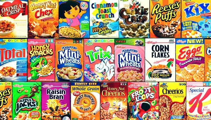 5 Best Bad for You' Cereals forecasting