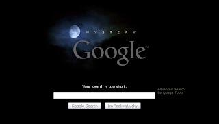 Mystery Google Muncul di Internet
