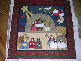 nativity paper mystery quilt patterns christmas - ShopWiki