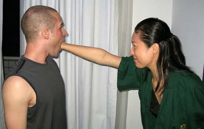 Eating Hand Illusion - Punching Face Illusion