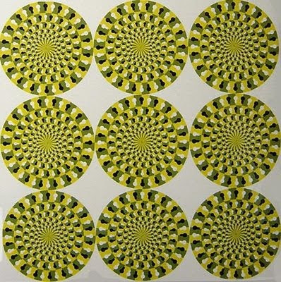 Rotating Snakes Illusion - Snake Optical Illusion