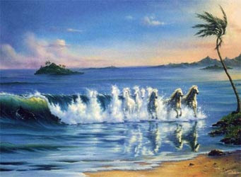 Galloping Waves Illusion