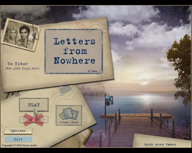 Letters From Nowhere BETA