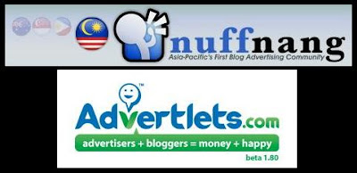 Nuffnang & Advertlets..