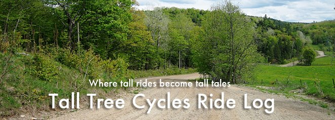 Tall Tree Cycles Ride Log