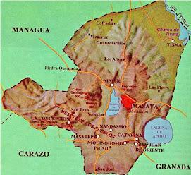 Mapa de Masaya