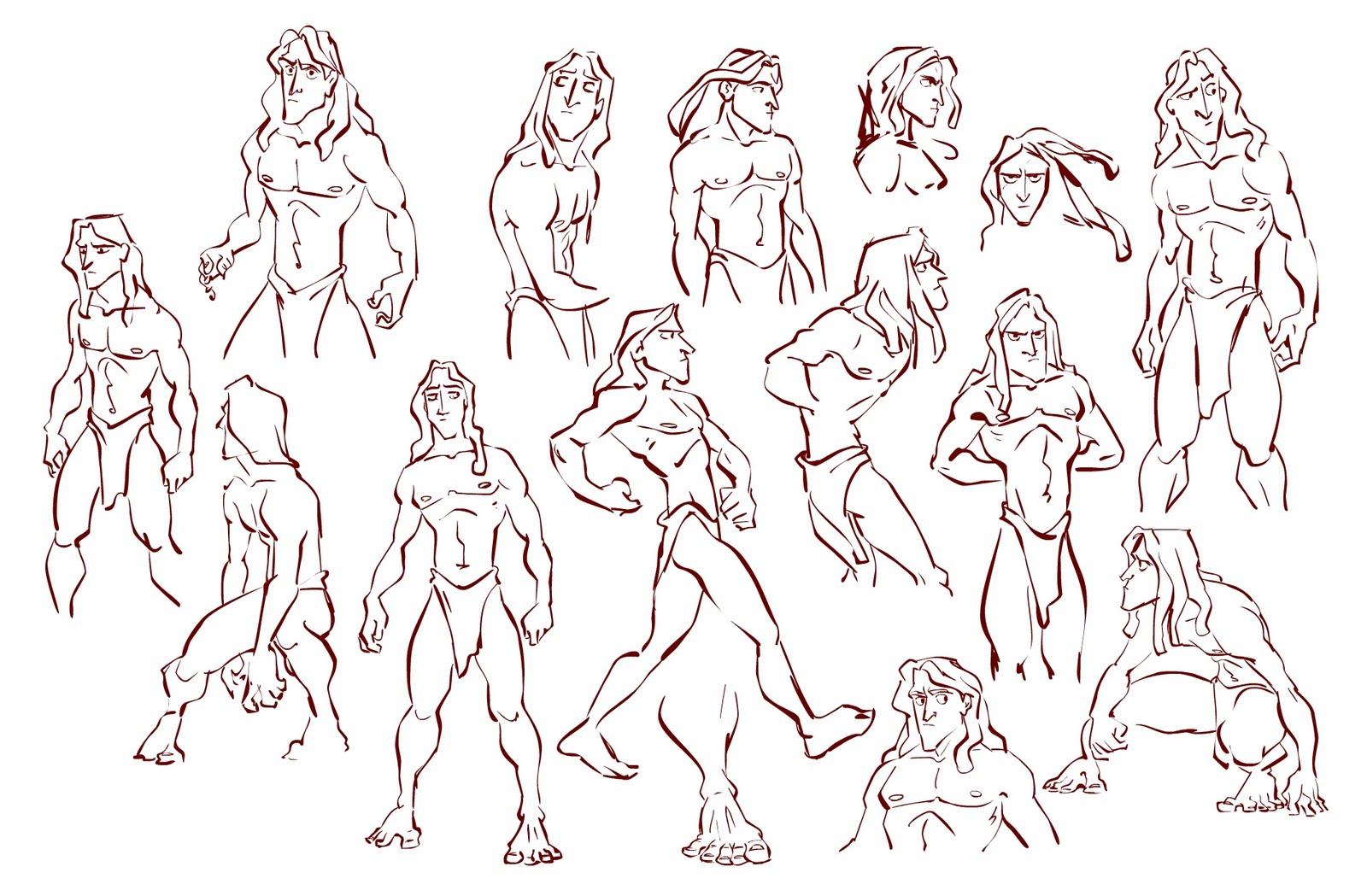 Disney Character Design Tarzan : Aleina june