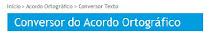 CONVERSOR ORTOGRÁFICO