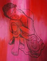 Contemplating Buddha by Paul Potts