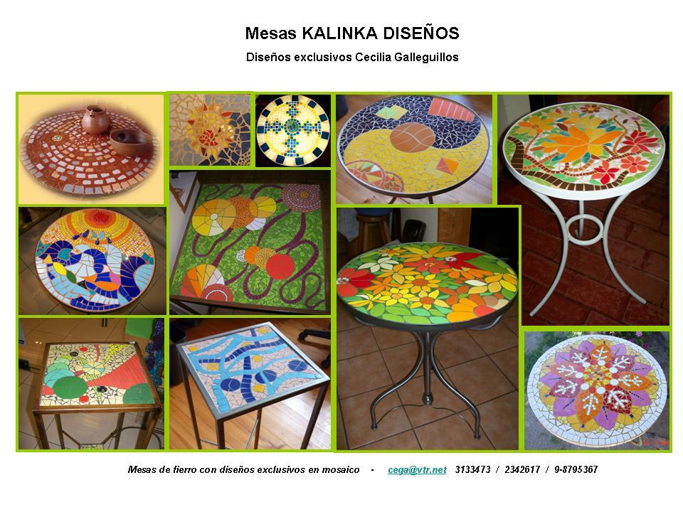 Espejos De Decoracion En Chile ~ KALINKA DISE?OS Nuevos dise?os en mesas, espejos y l?mparas