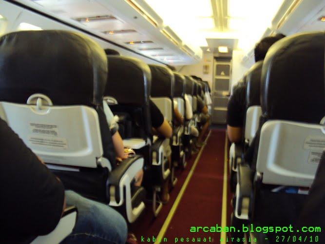 ARCABAN: sketch on airplane