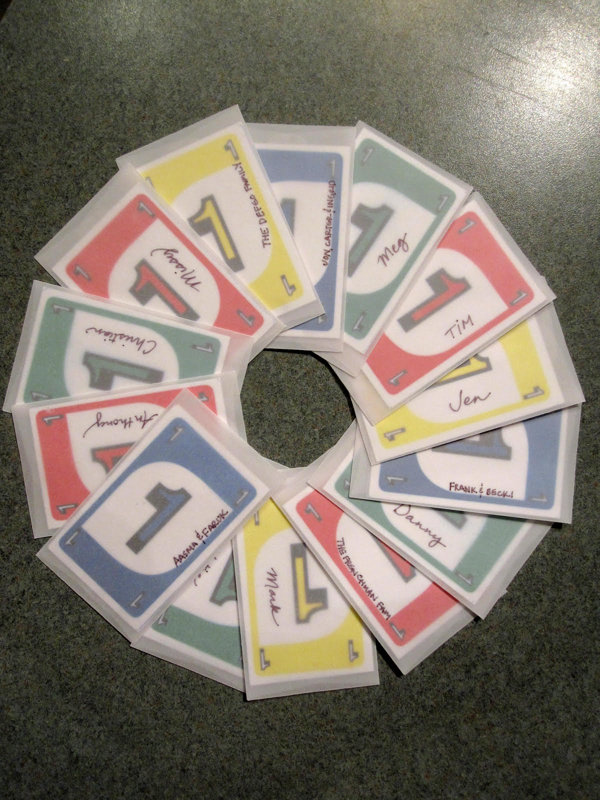 how to make uno cards
