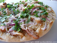 Asian BBQ Chicken Pizza