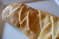 Easy Breakfast Crescent Braid