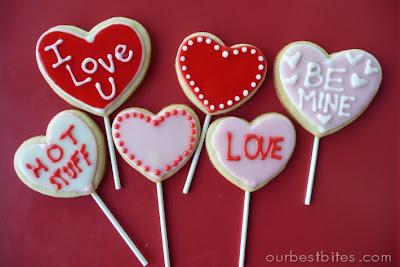 tutorial valentine sugar cookie pops our best bites