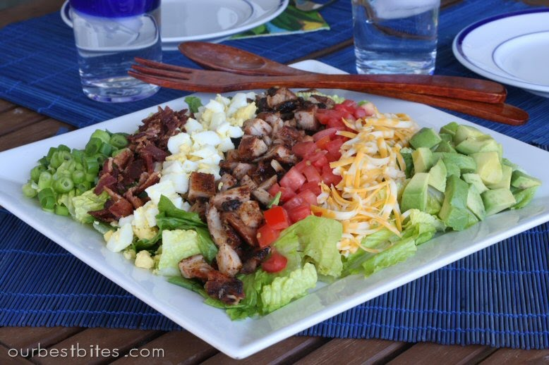 BBQ Chicken Cobb Salad - Our Best Bites