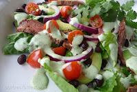 Chili-Lime Steak Salad