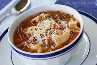 Tortellini Sausage Soup