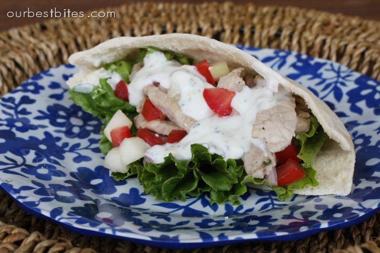 Greek Pita Sandwich Greek Style Pita Sandwiches